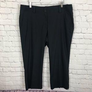 Nike Dri-fit  Performance Black Crop Golf Pants 14